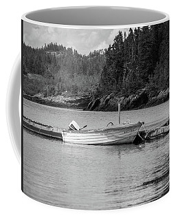 Coffee Mug featuring the photograph Noca Scotia In Black And White  by Trace Kittrell