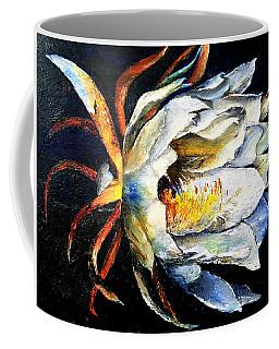 Nocturnal Desert Blossom Coffee Mug