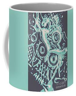 Nocturnal The Blue Owl Coffee Mug