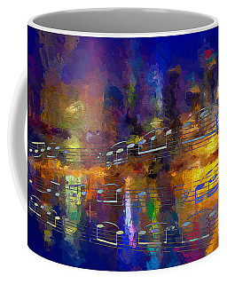 Coffee Mug featuring the digital art Nocturne 1 by Lon Chaffin