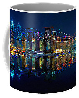 Coffee Mug featuring the digital art Nocturne 2 by Lon Chaffin