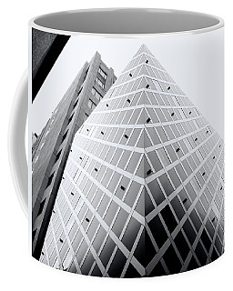 Coffee Mug featuring the photograph Non-pyramidal by Wayne Sherriff