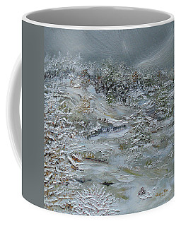 Coffee Mug featuring the painting Nor'easter by Judith Rhue