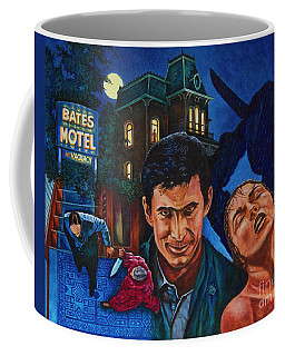 Coffee Mug featuring the painting Norman by Michael Frank