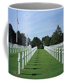 Normandy Memorial Cemetery - There Are No Words Coffee Mug
