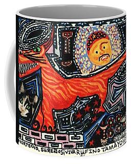 Nortenos Surenos Viva Rufino Tamayo Simon Coffee Mug