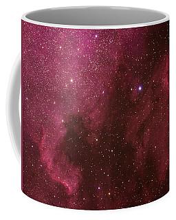 North American And Pelican Nebulas Coffee Mug