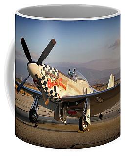 North American P-51d Mustang Buzzin Cousin Coffee Mug