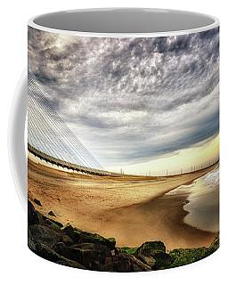 North Beach At Indian River Inlet Coffee Mug
