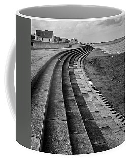 North Beach, Heacham, Norfolk, England Coffee Mug by John Edwards