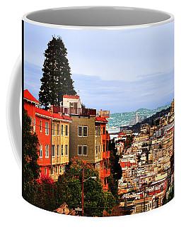 Looking Toward North Beach Coffee Mug