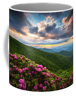 North Carolina Blue Ridge Parkway Scenic Landscape Asheville Nc Coffee Mug