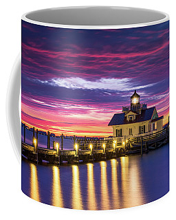 North Carolina Outer Banks Lighthouse Manteo Obx Nc Coffee Mug