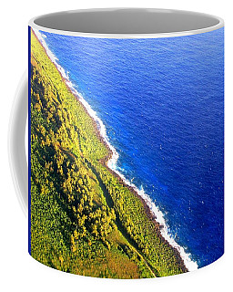 Coffee Mug featuring the photograph North Coast Of Tinian At Sunrise by MB Dallocchio