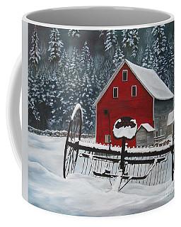North Country Winter Coffee Mug