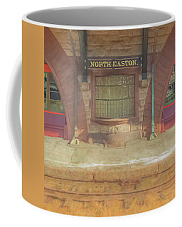 North Easton Train Station At Solstice Coffee Mug