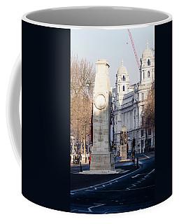 North Facade Of Cenotaph War Memorial Whitehall London Coffee Mug
