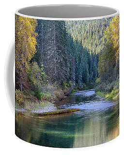 North Fork Gold Coffee Mug