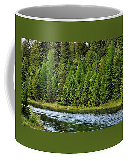 North Fork Of The Flathead Coffee Mug