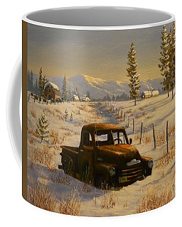North Idaho Yard Art Coffee Mug