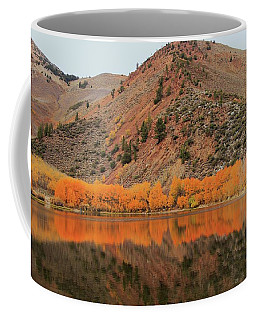 Coffee Mug featuring the photograph North Lake Peak Autumn by Sean Sarsfield