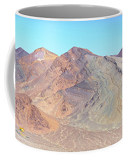 Coffee Mug featuring the photograph North Of Avawatz Mountain by Jim Thompson