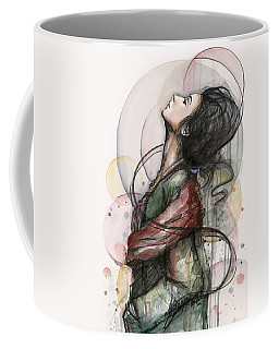 Beautiful Lady Coffee Mug