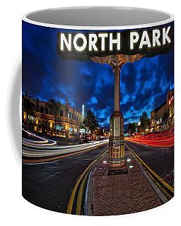 North Park Neon Sign San Diego California Coffee Mug