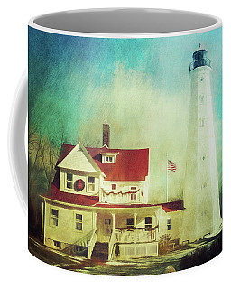 North Point Lighthouse Keeper's Quarters Coffee Mug
