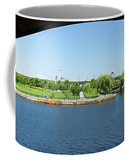 North Point Park And Zakim Bridge, Boston Ma #30966-75 Coffee Mug