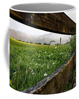 North Road Fence Coffee Mug