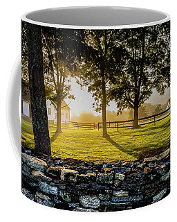 North Road Fog Coffee Mug
