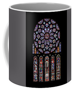 North Rose Window Of Chartres Cathedral Coffee Mug