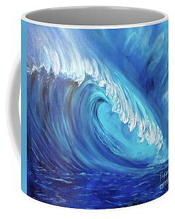 North Shore Wave Oahu 2 Coffee Mug by Jenny Lee