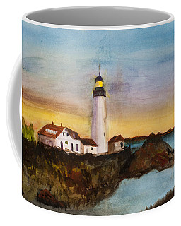 North Truro Light House Cape Cod Coffee Mug