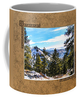 Coffee Mug featuring the photograph North View by Susan Kinney