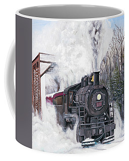 Northbound At 35 Below Coffee Mug