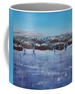Northern Fishing Village Coffee Mug