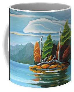 Northern Island Coffee Mug
