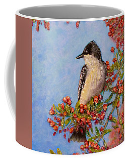 Coffee Mug featuring the painting Northern King Bird  by Joe Bergholm