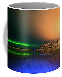Northern Light In Lofoten, Nordland 4 Coffee Mug