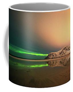 Northern Light In Lofoten Nordland 5 Coffee Mug