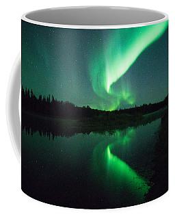 Northern Lights Alaska Coffee Mug