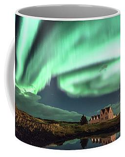 Northern Lights Coffee Mug by Frodi Brinks
