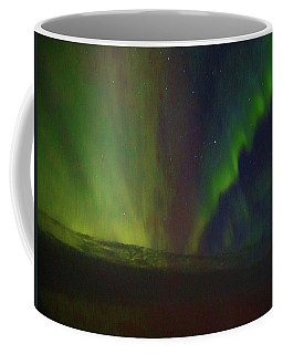 Northern Lights Or Auora Borealis Coffee Mug