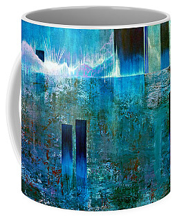 Northern Lights Rising Coffee Mug