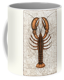 Northern Lobster Coffee Mug by Charles Harden