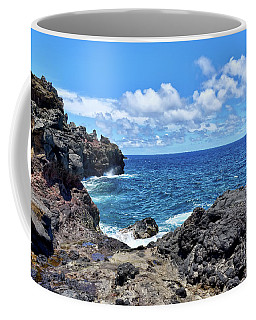 Northern Maui Rocky Coastline Coffee Mug