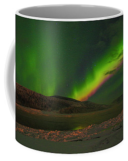 Coffee Mug featuring the photograph Northern Northern Lights 3 by Phyllis Spoor