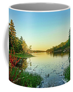 Northern Ontario Lake Coffee Mug